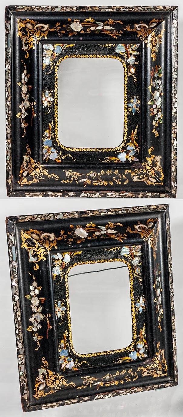 Frame museum page 1 better a stunning early satinwood example from the 1820s 30s from ireland one of a pair it is 8 12 x 10 12 inches with an image size of 5 34 x 7 58 jeuxipadfo Gallery