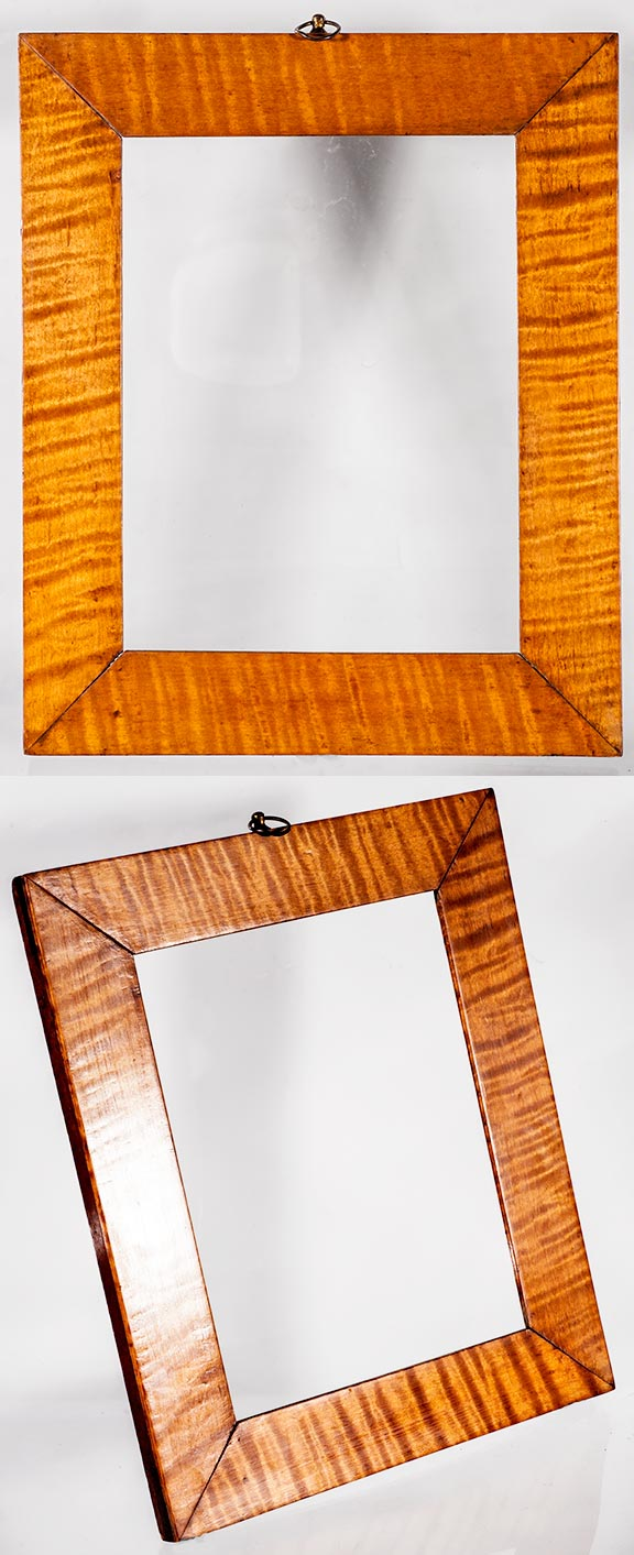 Frame museum page 1 best an incredible the natural tiger strip maple has translucent shimmering stripes with depth that change as you move around it from the 1830s 40s jeuxipadfo Image collections
